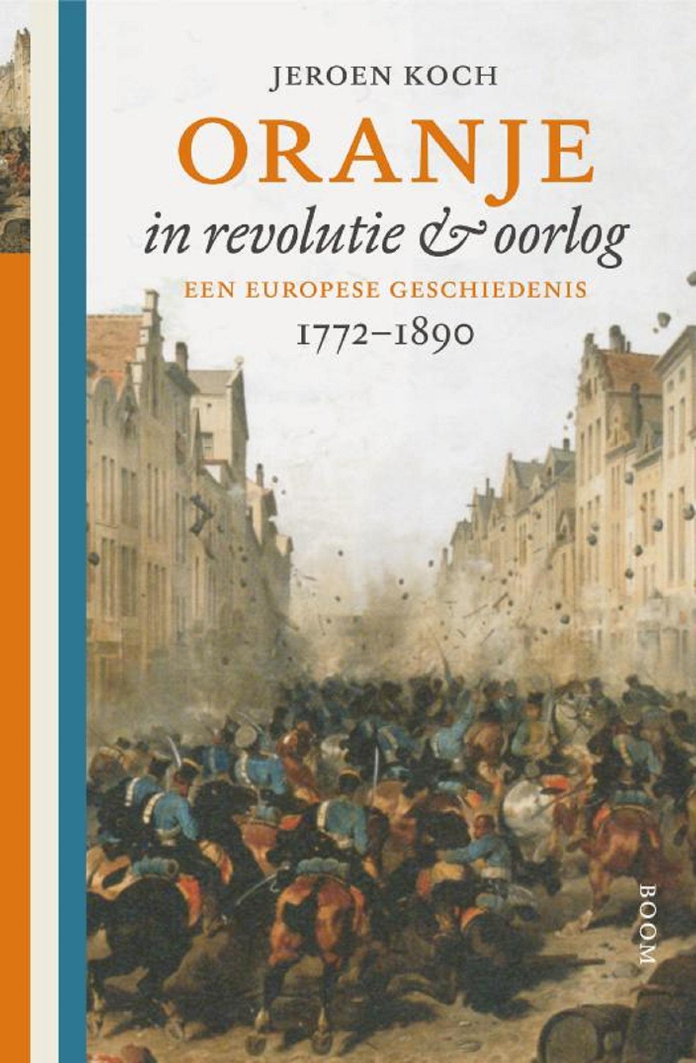 Cover Oranje in revolutie & oorlog