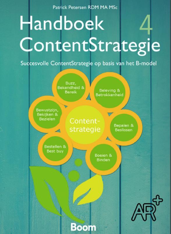Cover Handboek Contentstrategie (vierde druk)