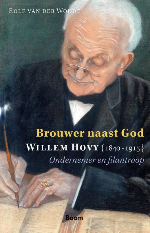 Cover Brouwer naast God