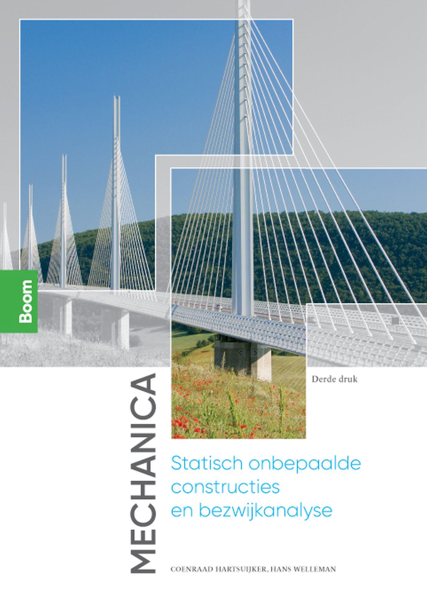 Cover Mechanica: Statisch onbepaalde constructies en bezwijkanalyse