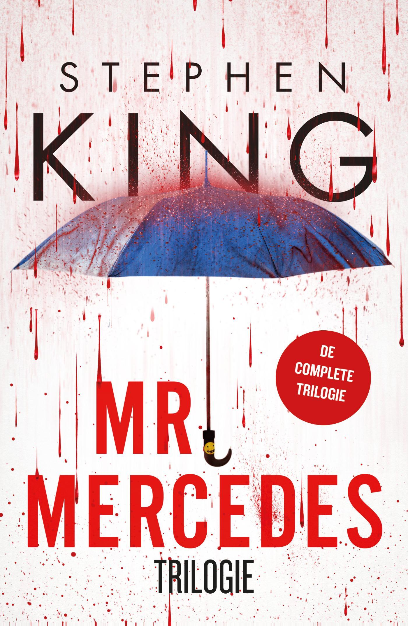 Cover Mr. Mercedes Trilogie - Mr. Mercedes, De eerlijke vinder, Wisseling van de wacht