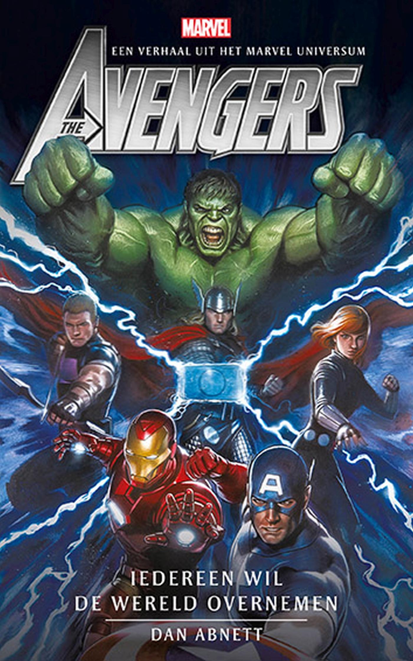 Cover Avengers - Iedereen wil de wereld overnemen