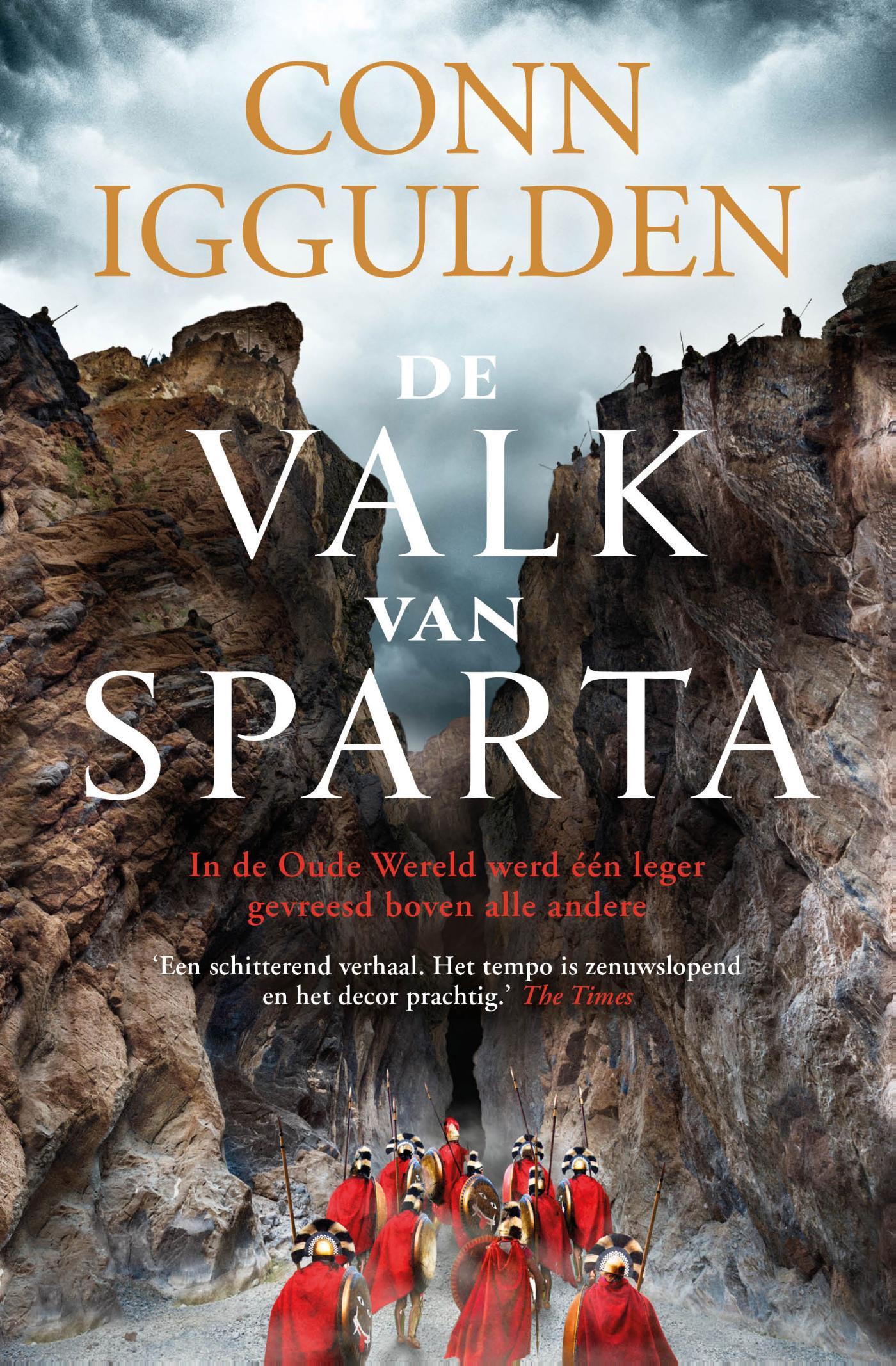 Cover De valk van Sparta