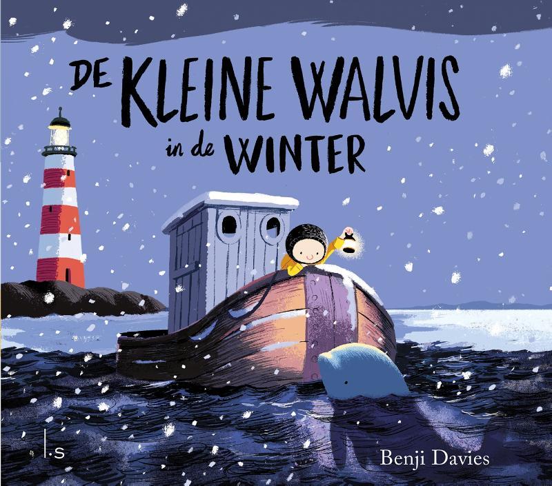 Cover De kleine walvis in de winter