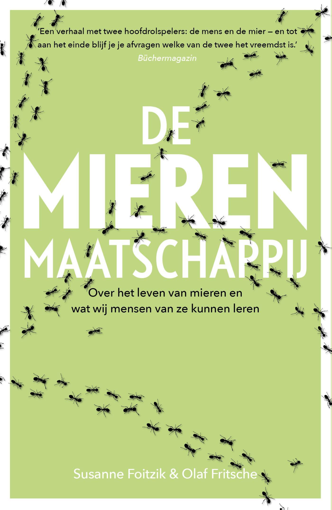Cover De mierenmaatschappij
