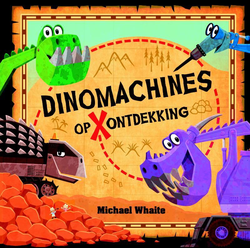 Cover Dinomachines op ontdekking