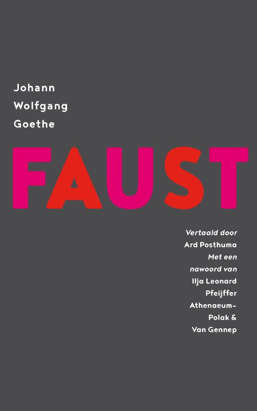Cover Faust, een tragedie