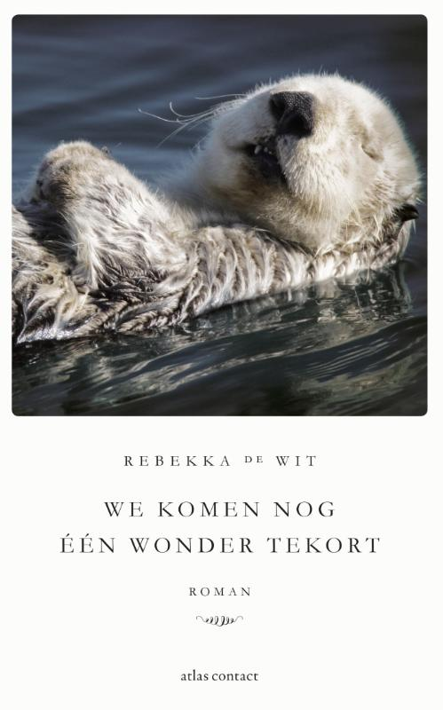 Cover We komen nog één wonder tekort