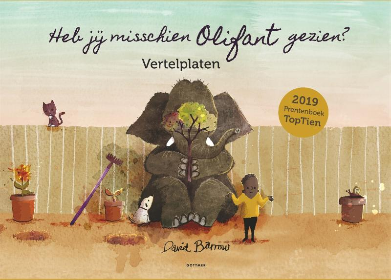 Cover Vertelplaten Heb jij misschien Olifant gezien?