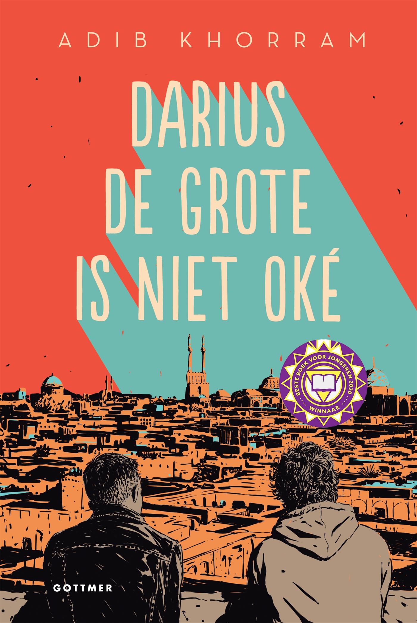 Cover Darius de Grote is niet oké
