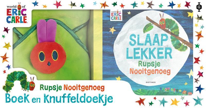 Cover Slaap lekker, Rupsje Nooitgenoeg - cadeaudoos