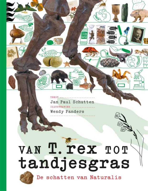 Cover Van T. rex tot tandjesgras