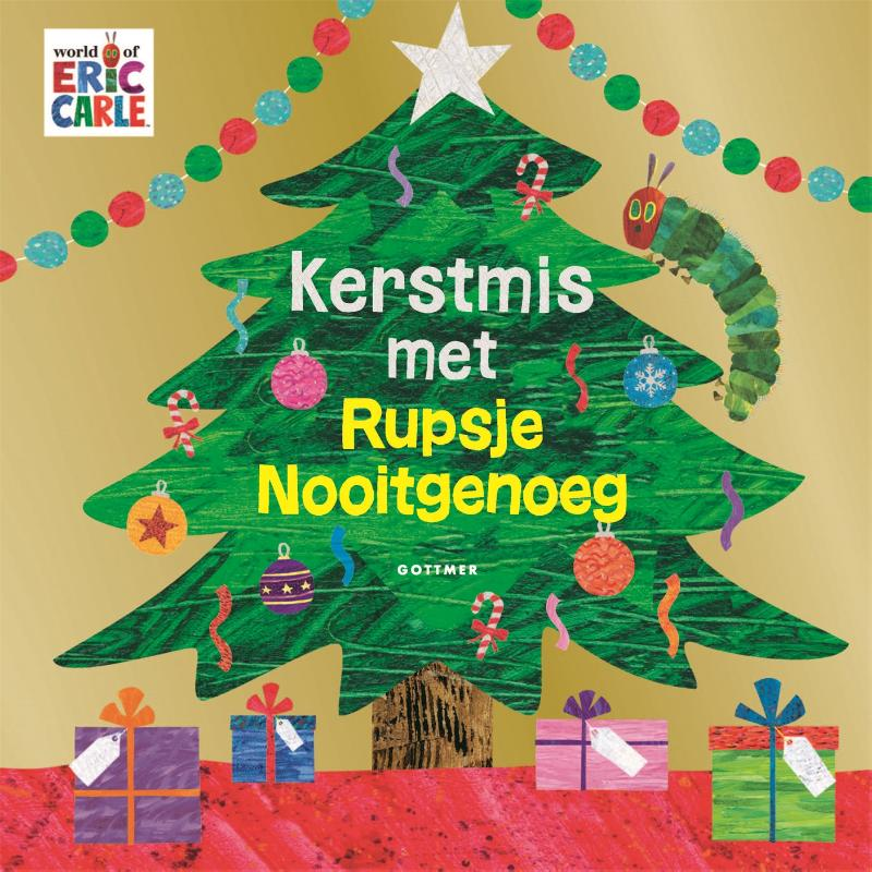 Cover Kerstmis met Rupsje Nooitgenoeg