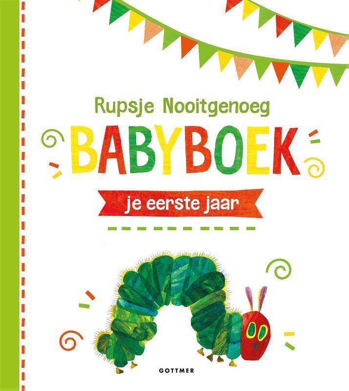 Cover Rupsje Nooitgenoeg Babyboek