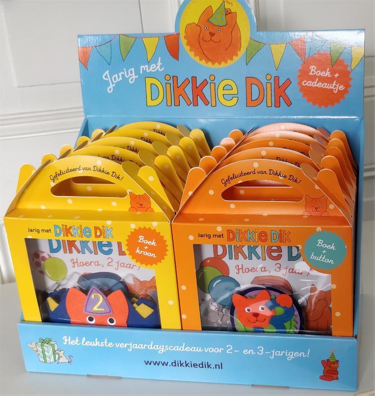 Cover Jarig met Dikkie Dik - display 2 x 5 exx