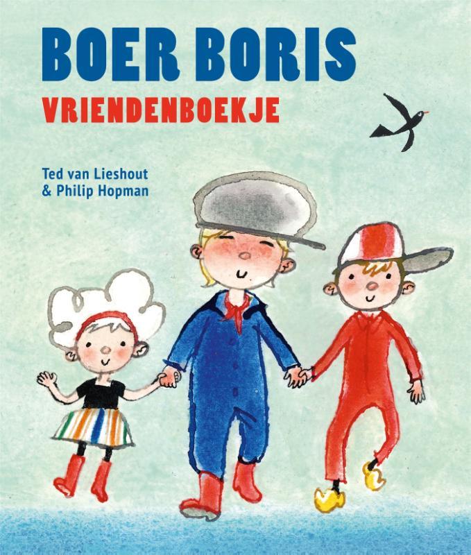 Cover Boer Boris vriendenboekje