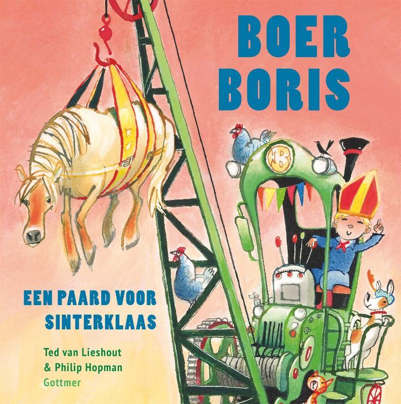 Cover Boer Boris, een paard voor Sinterklaas