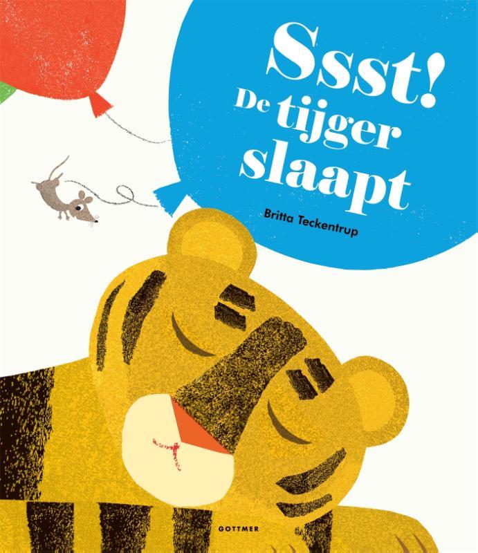 Cover Ssst! De tijger slaapt