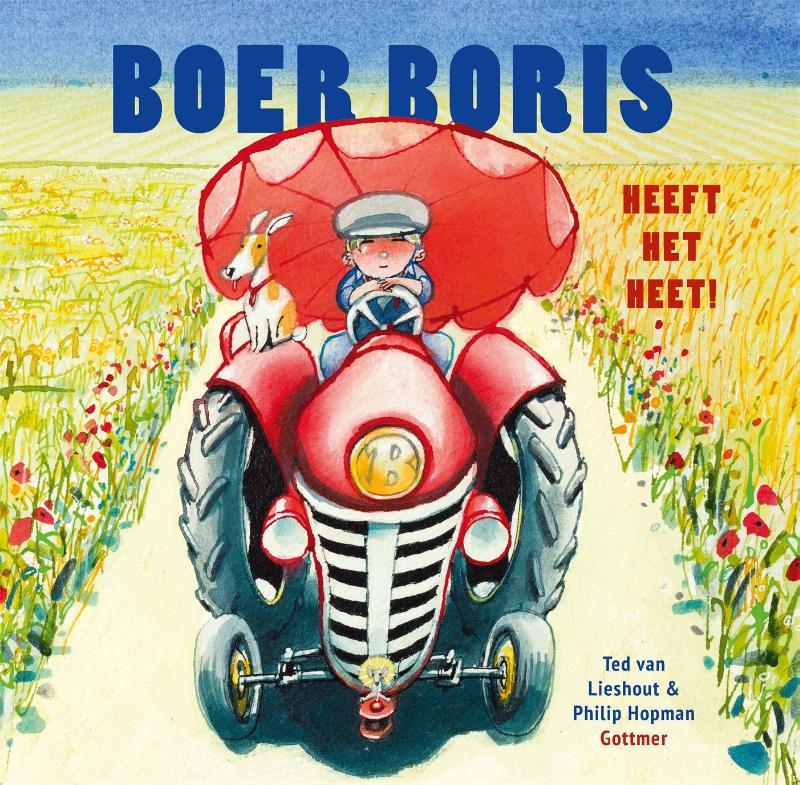 Cover Boer Boris heeft het heet