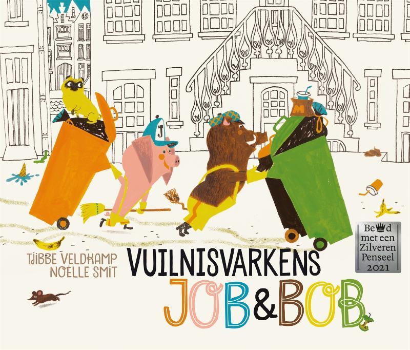 Cover Vuilnisvarkens Job & Bob