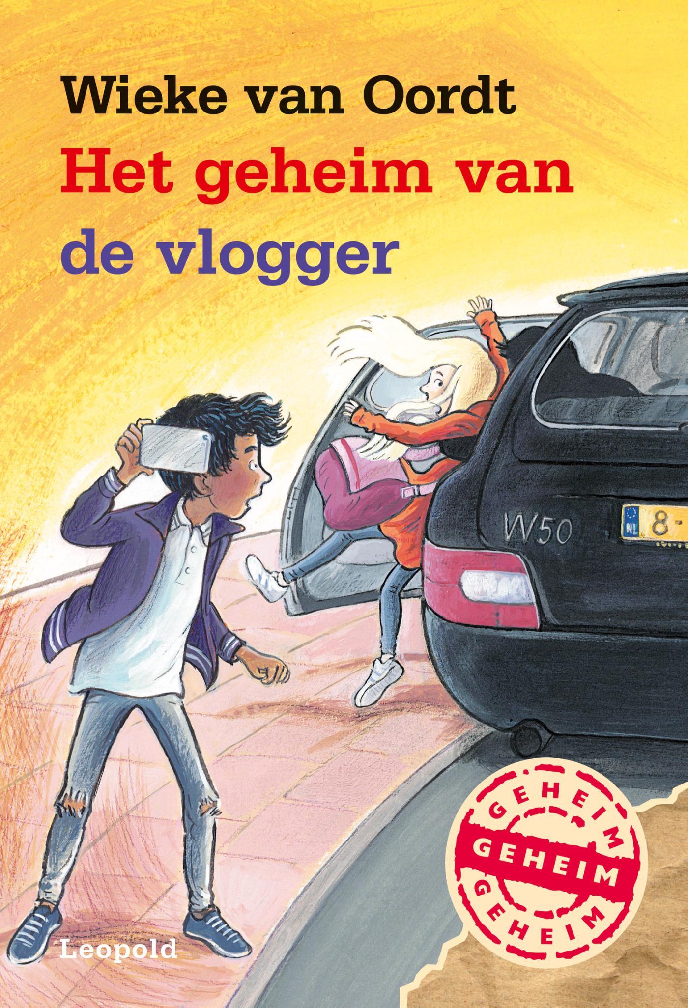 Cover Het geheim van de vlogger