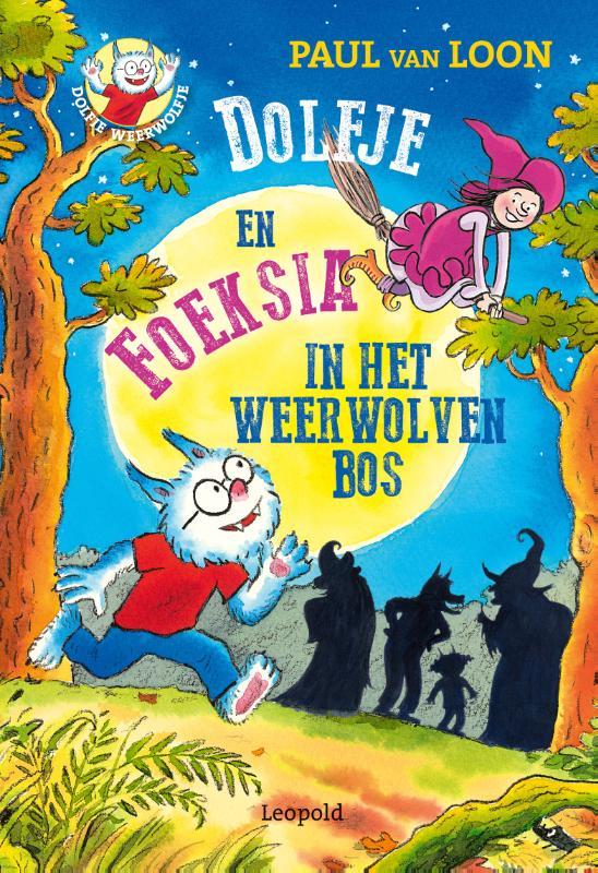 Cover Dolfje en Foeksia in het Weerwolvenbos