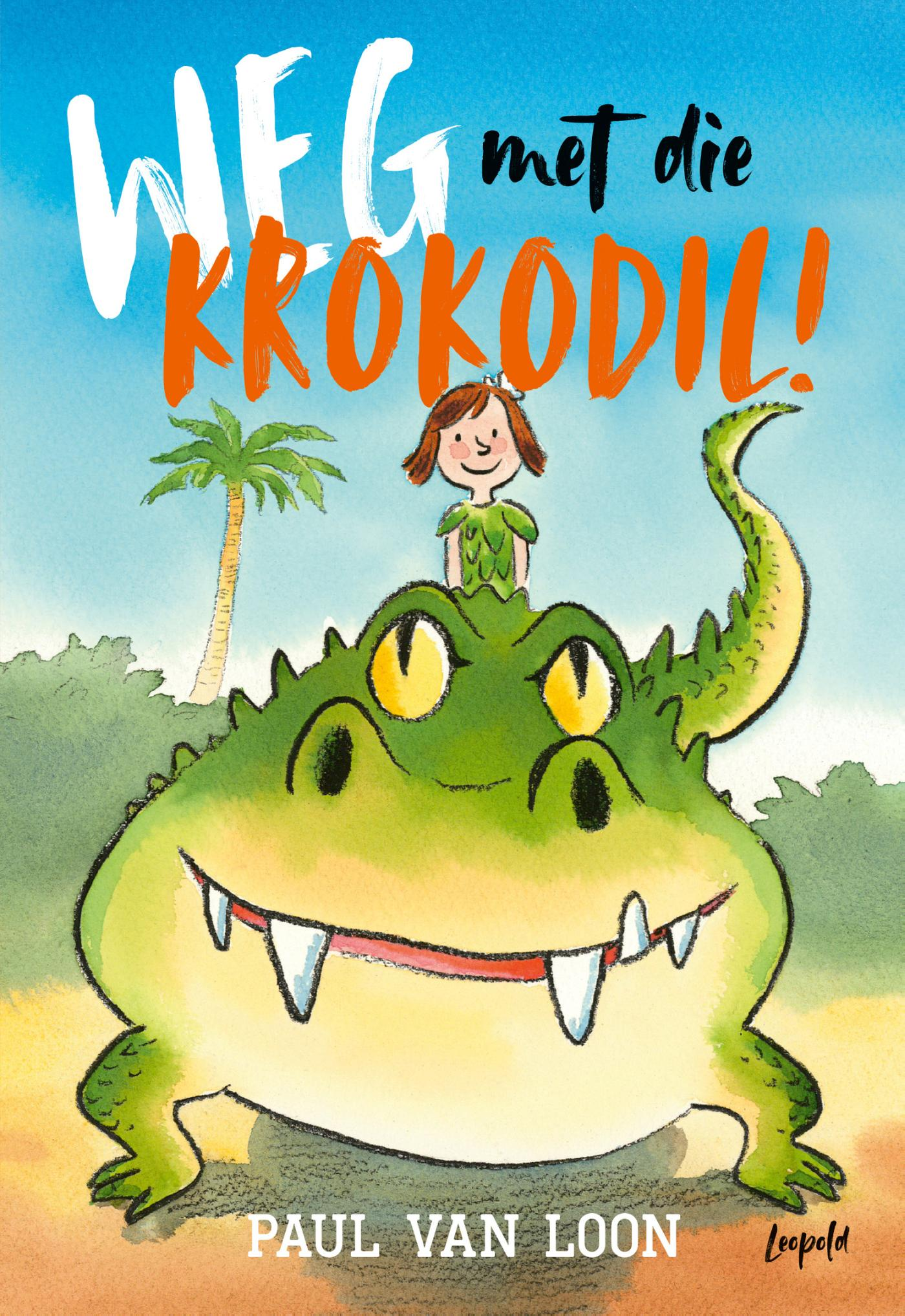 Cover Weg met die krokodil!