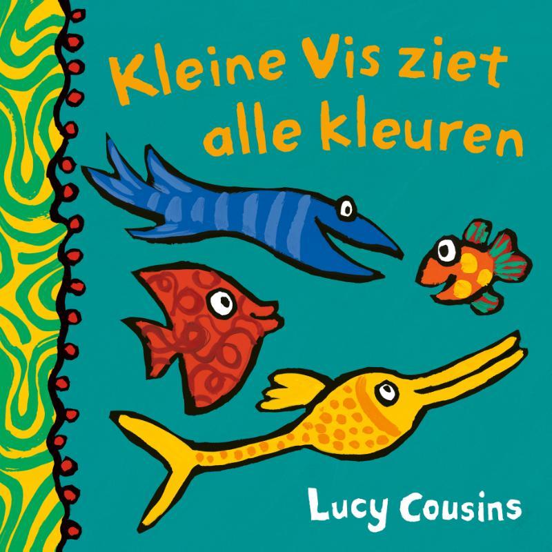 Cover Kleine Vis ziet alle kleuren