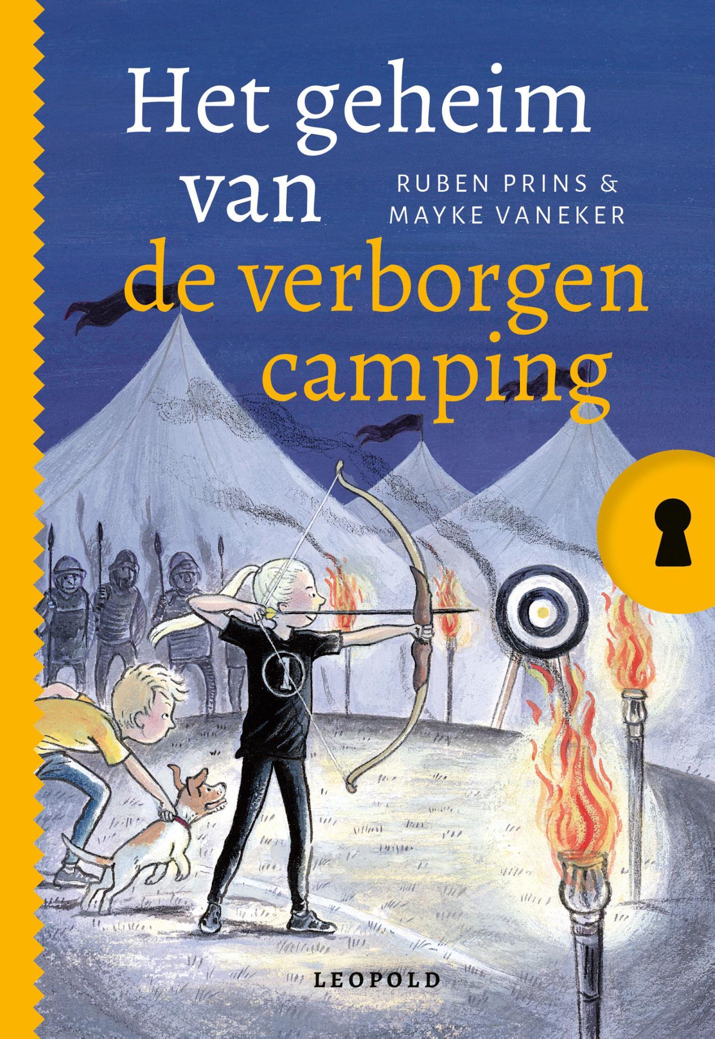 Cover Het geheim van de verborgen camping