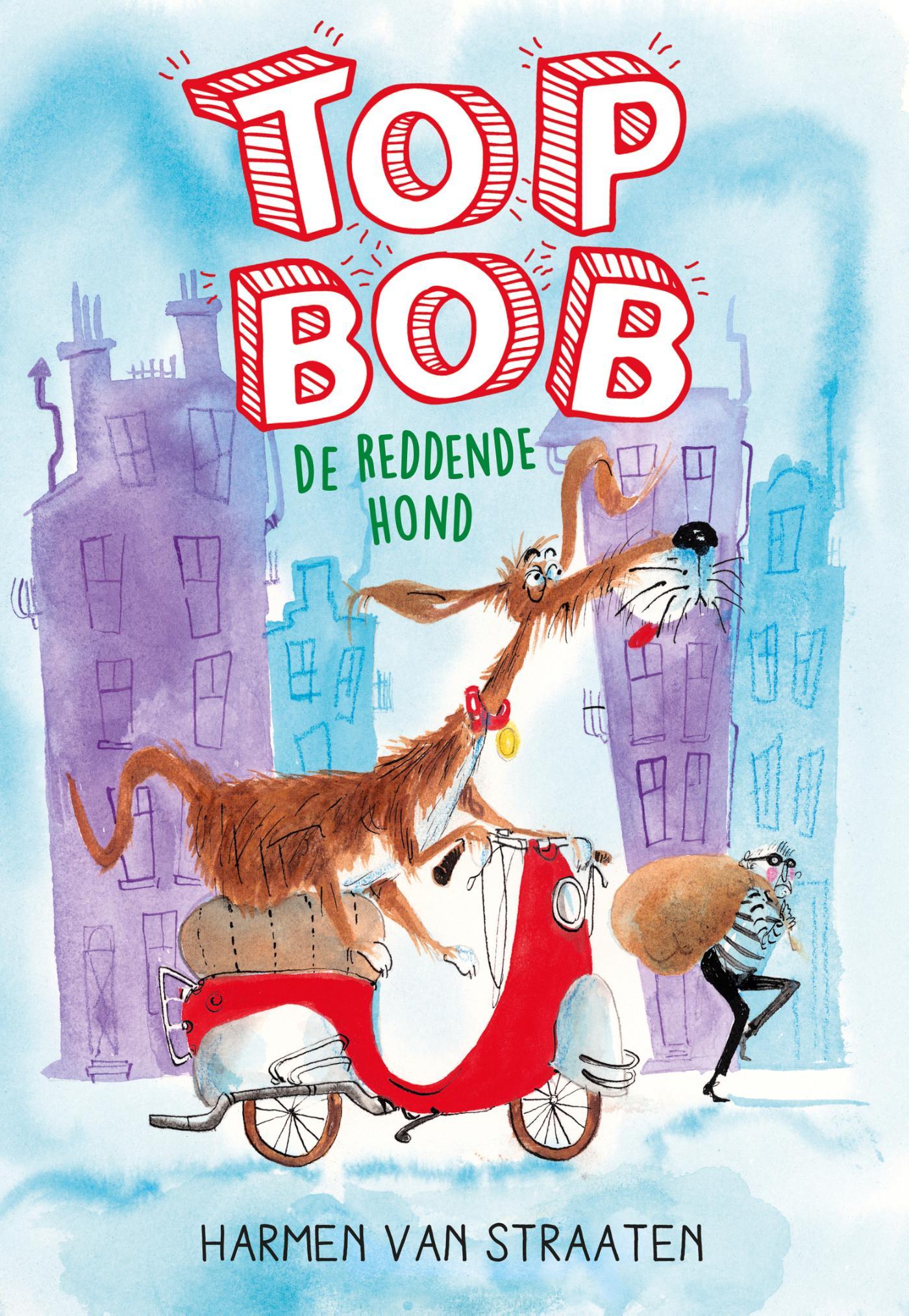 Cover Top Bob de reddende hond