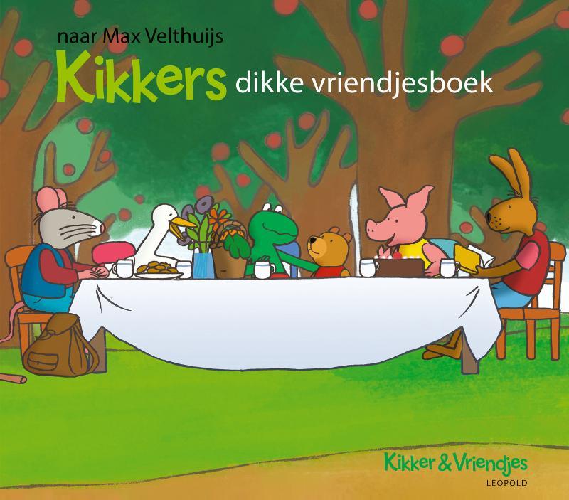 Cover Kikkers dikke vriendjesboek