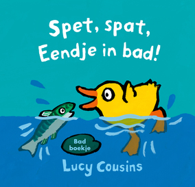 Cover Spet spat, Eendje in bad!