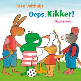 Cover Oeps, Kikker!