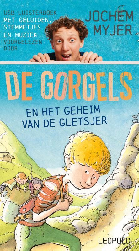 Cover De Gorgels en het geheim van de gletsjer