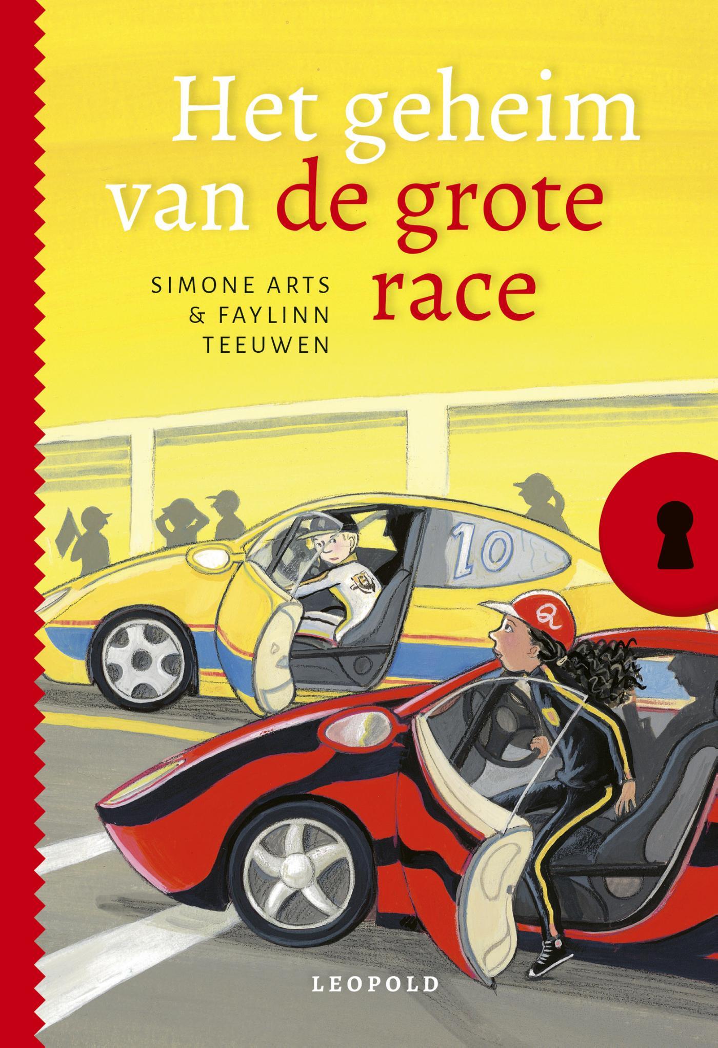 Cover Het geheim van de grote race