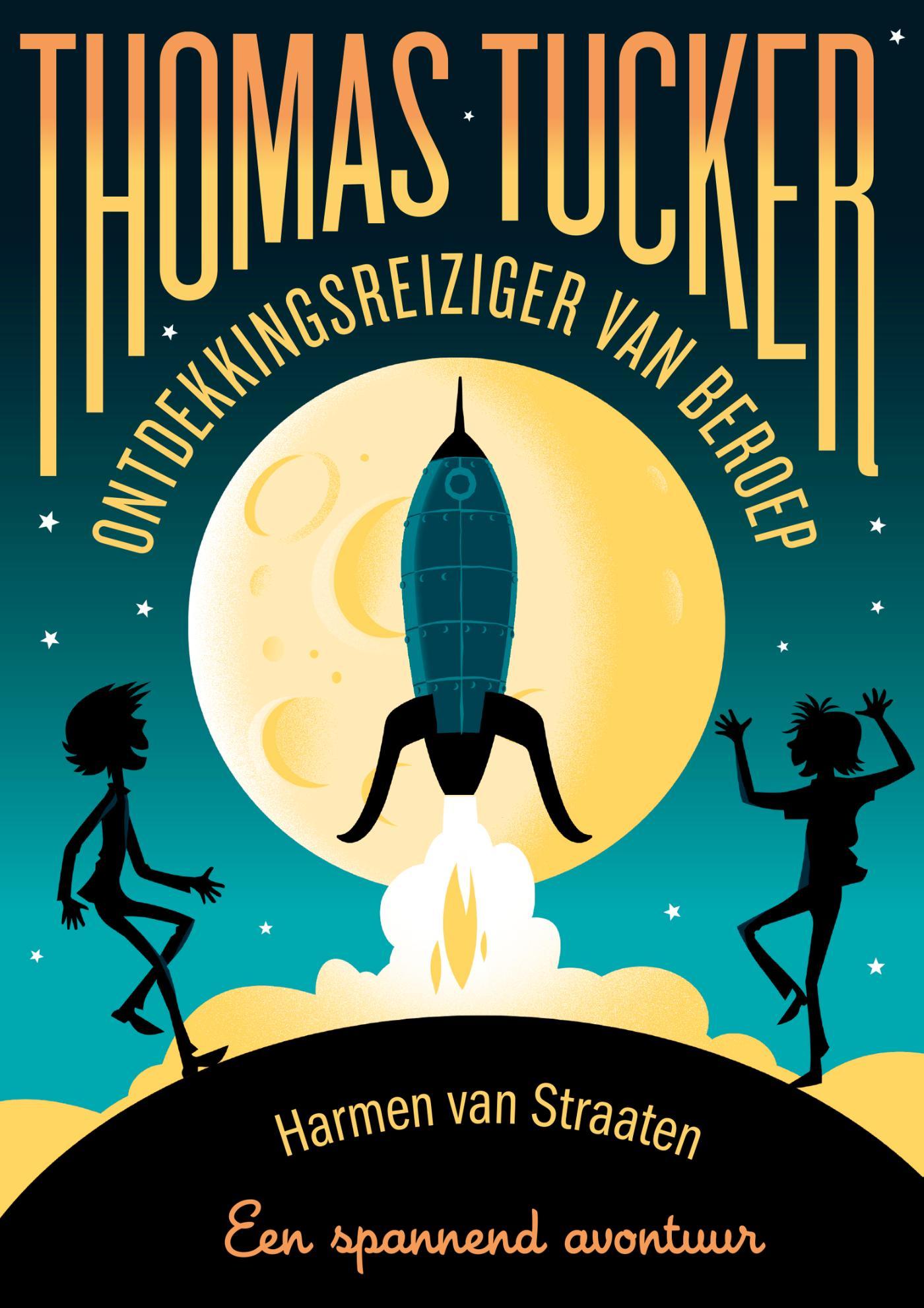 Cover Thomas Tucker - Ontdekkingsreiziger van beroep