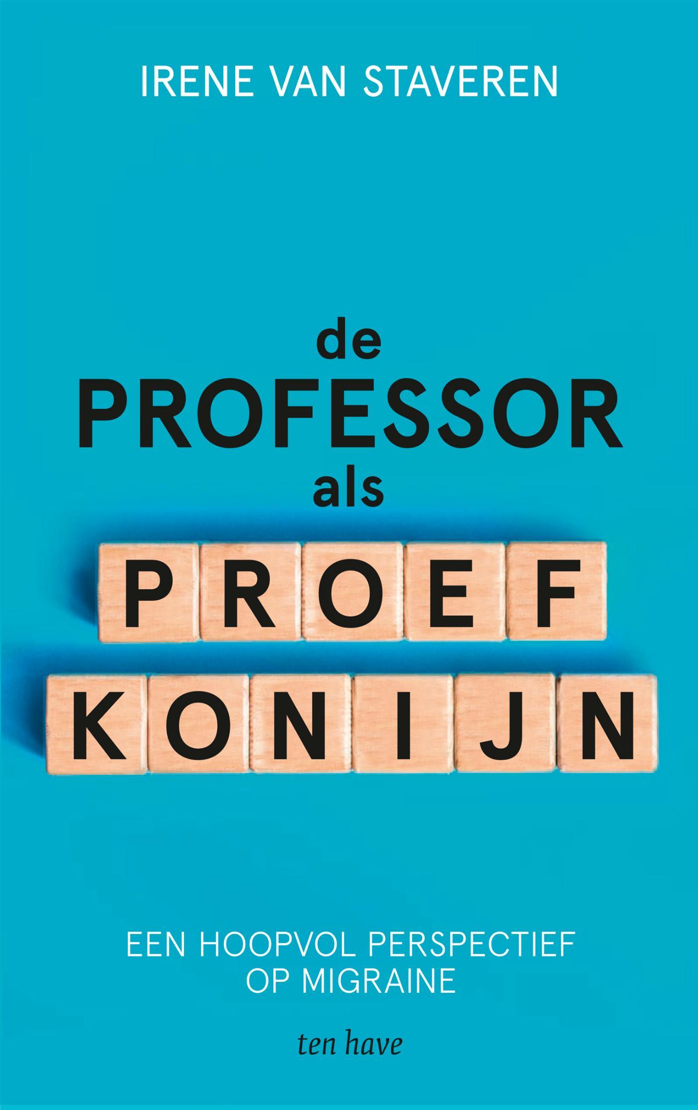 Cover De professor als proefkonijn