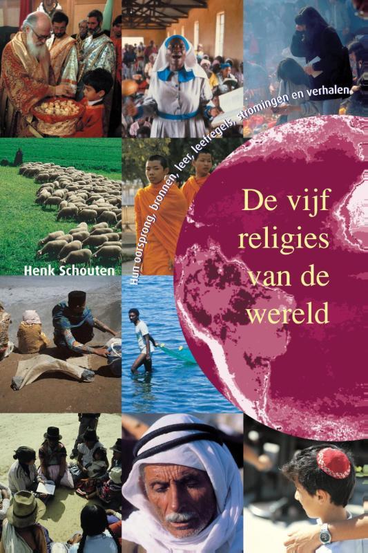 Cover De vijf religies van de wereld