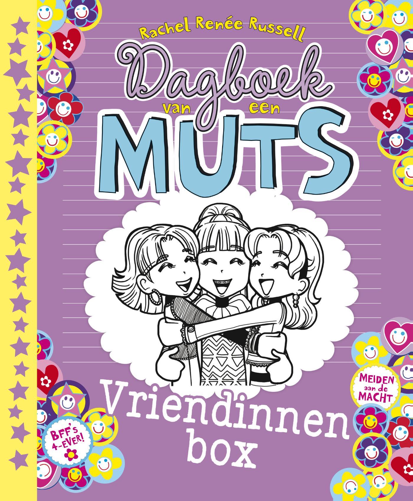 Cover Dagboek van een muts vriendinnenbox