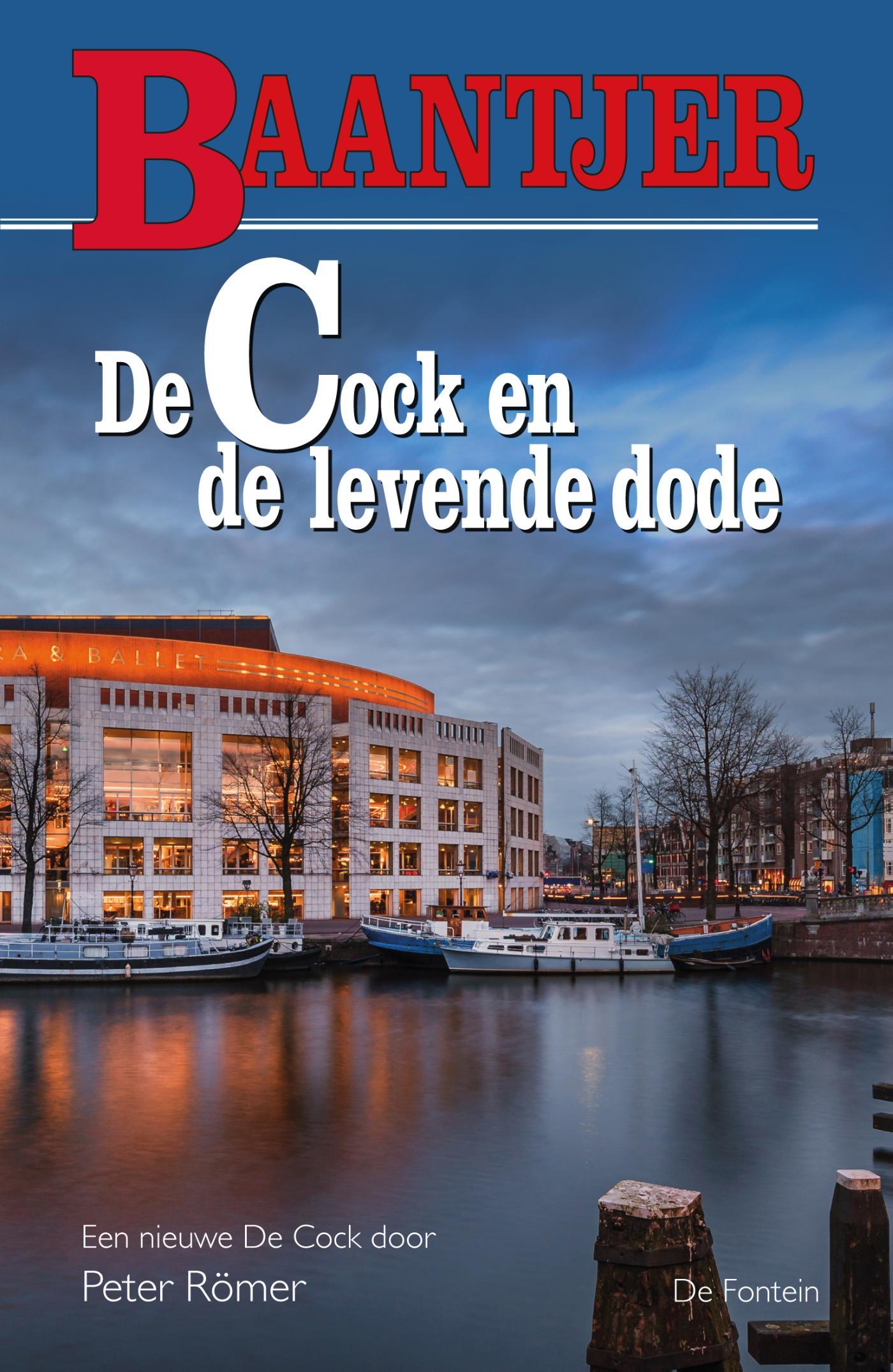 Cover De Cock en de levende dode