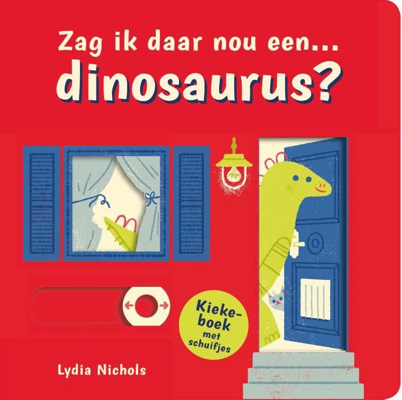 Cover Zag ik daar nou... Een dinosaurus?
