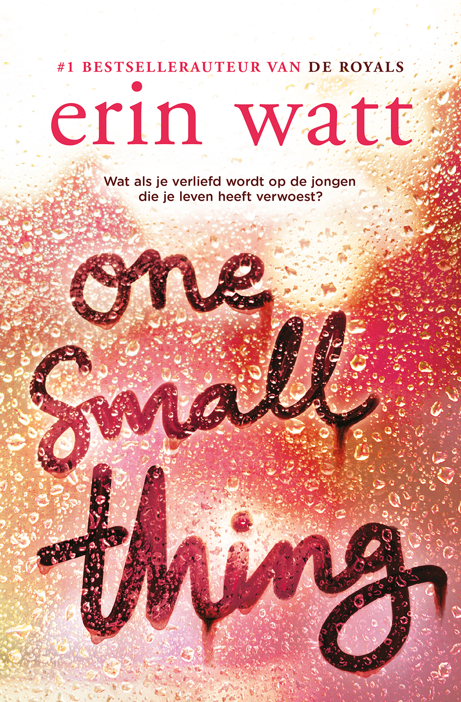 Cover One small thing