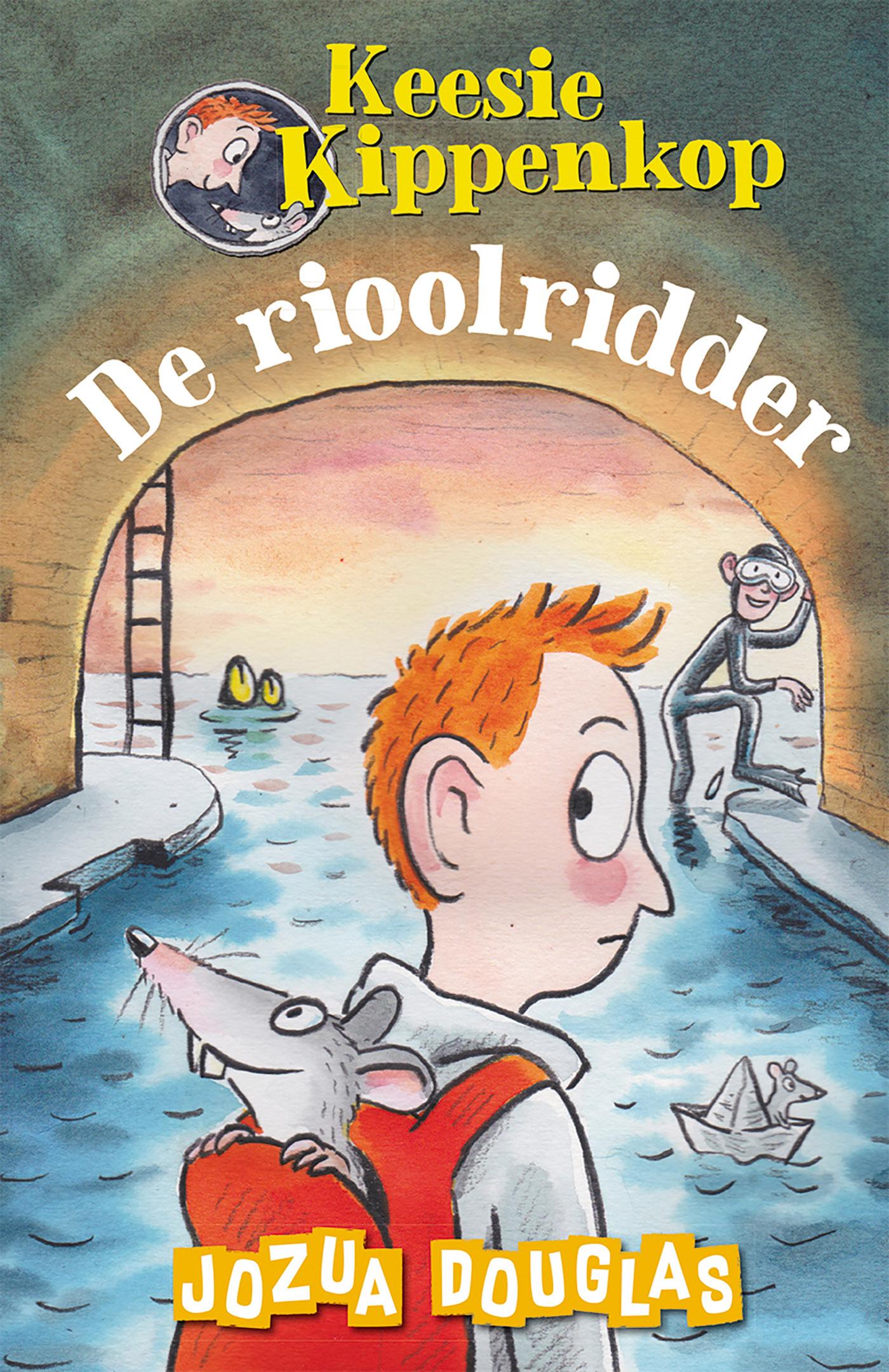 Cover De rioolridder