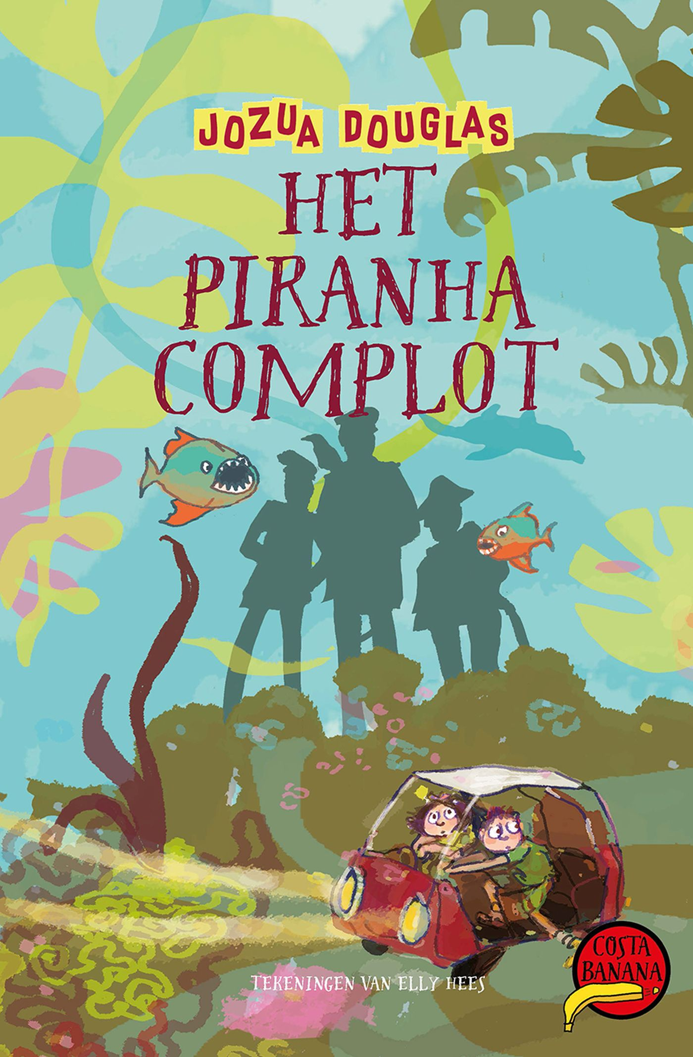 Cover Het piranha-complot