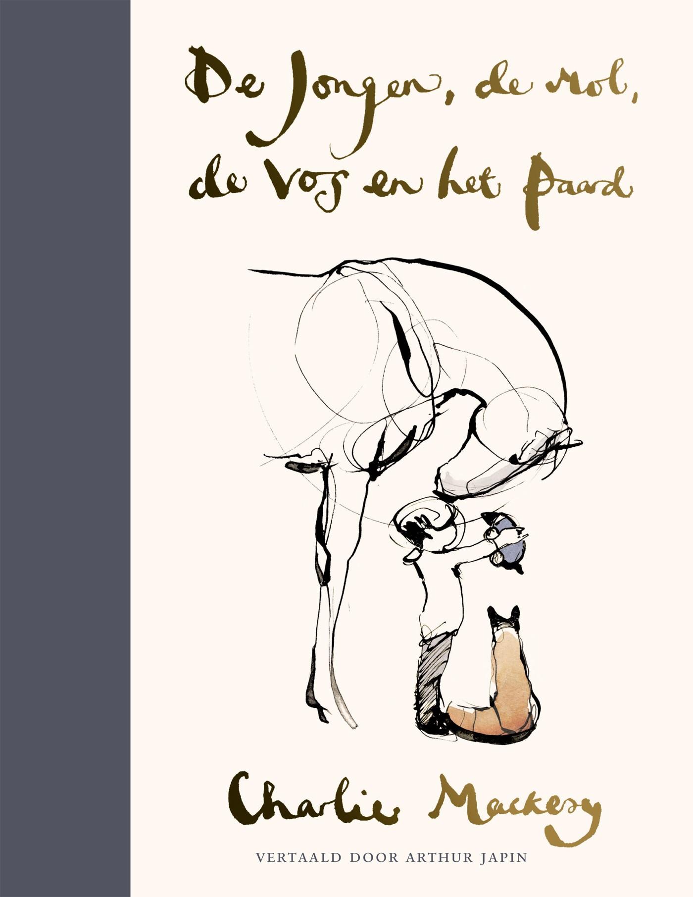 Cover De jongen, de mol, de vos en het paard