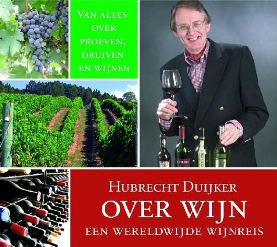 Cover Hubrecht Duijker over wijn