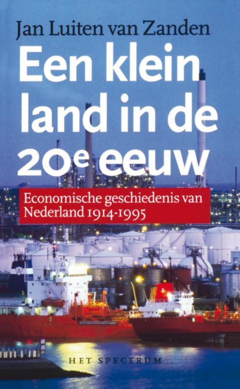 Cover Een klein land in de 20e eeuw