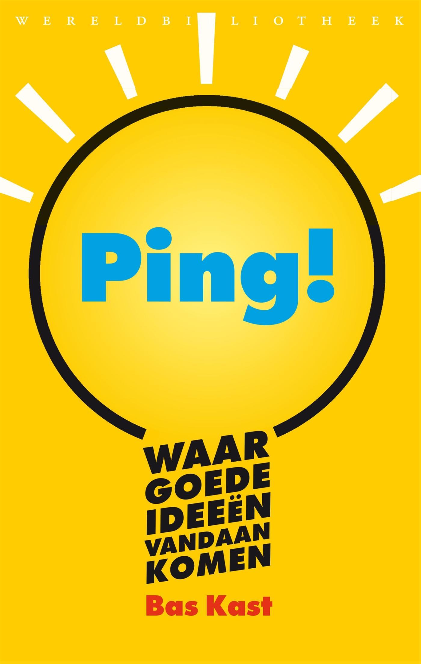 Boek Ping Waar Goede Ideeën Vandaan Komen Geschreven