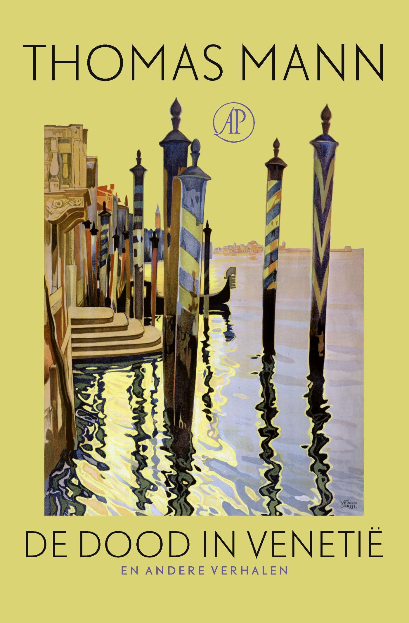 Cover De dood in Venetië