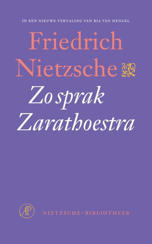 Cover Zo sprak Zarathoestra